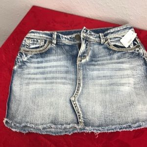 Brand New Mini Jean Skirt